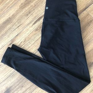 Lululemon Luon Black Leggings 28""